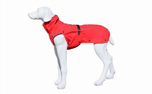 Stock & Stein Wear Hundejacke Rainmaster, simply red